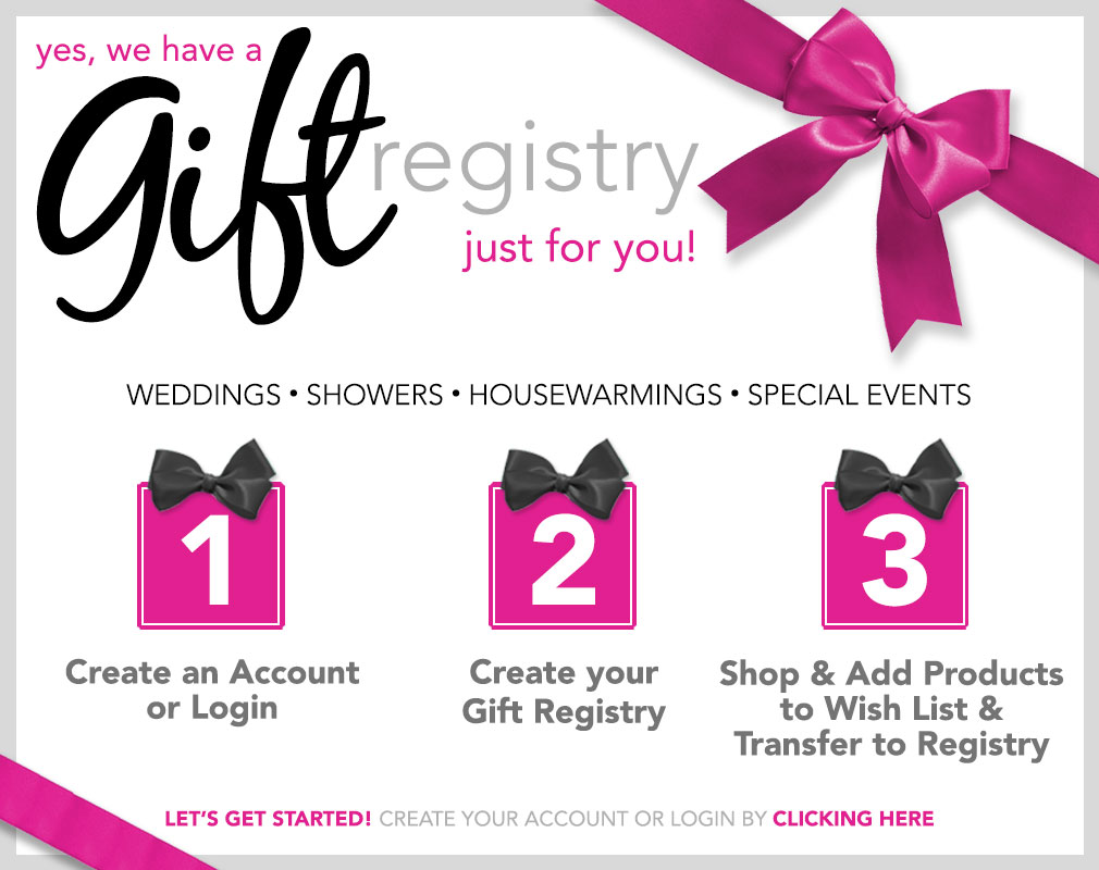 Wedding Gift Registry At Ivan Smith Furniture