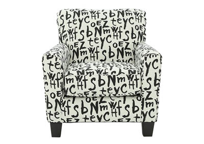BRINDON CHARCOAL RAVEN ACCENT CHAIR