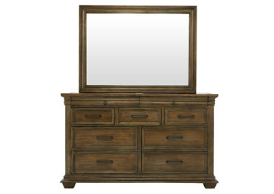 CAMDEN DRESSER AND MIRROR