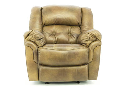HUDSON SADDLE POWER LEATHER RECLINER