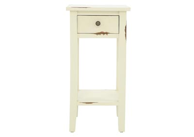 ANDREW KHAKI ACCENT TABLE