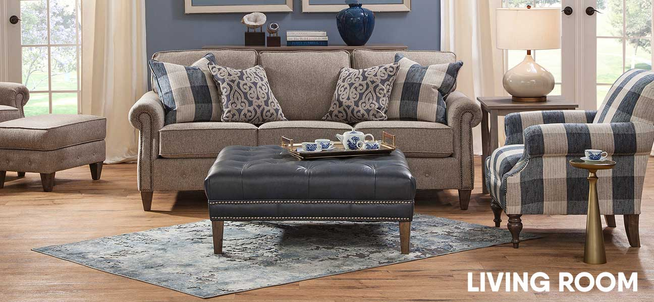 Shop Living Room Furniture From Couches To Coffee Tables In Adorable Living Room Brown Couch Model