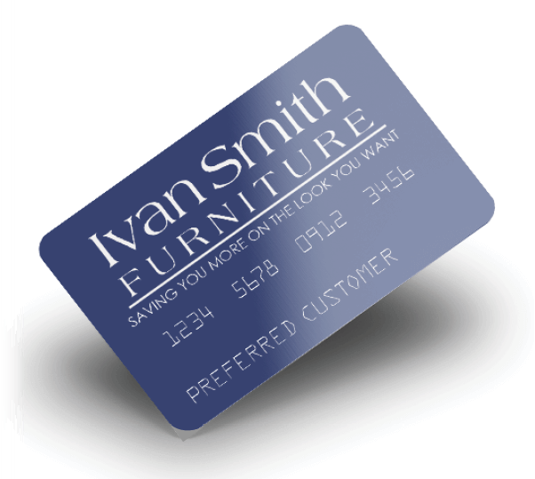 Ivan Smith Branded Credit Card